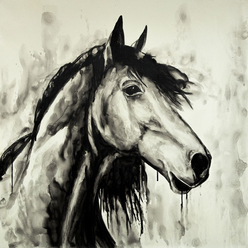 SPIRIT HORSE Poster Print by Atelier B Art Studio Atelier B Art Studio - Item # VARPDXBEGANI492