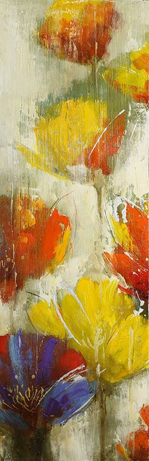 MODERN YELLOW FLOWERS Poster Print by Atelier B Art Studio Atelier B Art Studio - Item # VARPDXBEGFLO81