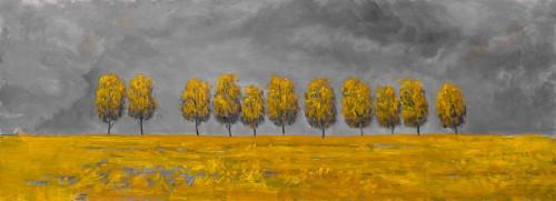 TREES IN A FIELD Poster Print by Atelier B Art Studio Atelier B Art Studio - Item # VARPDXBEGLAN69