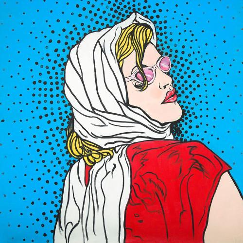 POP ART WOMAN Poster Print by Atelier B Art Studio Atelier B Art Studio - Item # VARPDXBEGPOP1