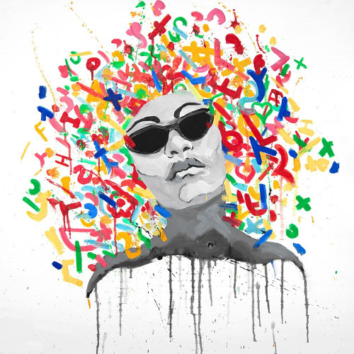 WOMAN STREET ART POP Poster Print by Atelier B Art Studio Atelier B Art Studio - Item # VARPDXBEGPOP3