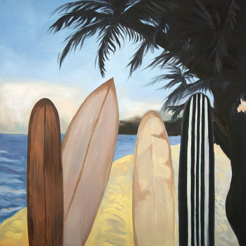 SURFBOARDS Poster Print by Atelier B Art Studio Atelier B Art Studio - Item # VARPDXBEGSPO61