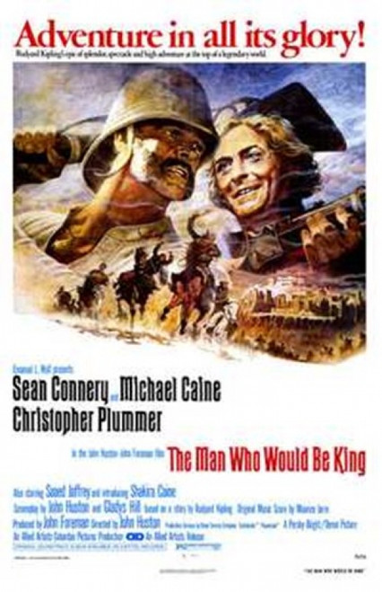 The Man Who Would Be King Movie Poster (11 x 17) - Item # MOV195886