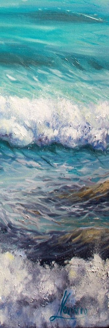 Ocean Rolls 3 Poster Print by Boho Hue Studio Boho Hue Studio - Item # VARPDXBHSPL001C