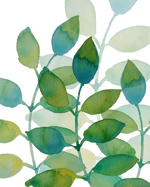 Leaf Echo 1 Poster Print by Boho Hue Studio Boho Hue Studio - Item # VARPDXBHSRC006A