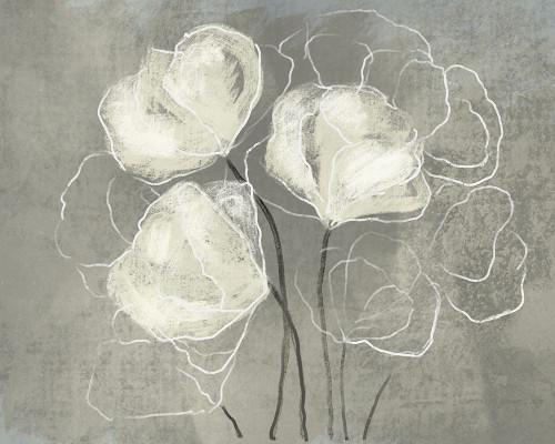 Sketched White Blooms 1 Poster Print by Boho Hue Studio Boho Hue Studio - Item # VARPDXBHSRC046A