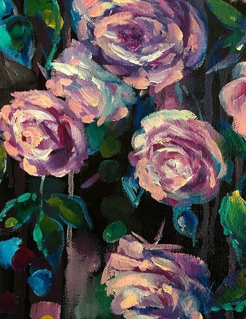 The Roses Poster Print by Boho Hue Studio Boho Hue Studio - Item # VARPDXBHSRC108A