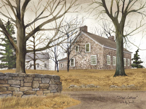 Stone Cottage Poster Print by Billy Jacobs - Item # VARPDXBJ195