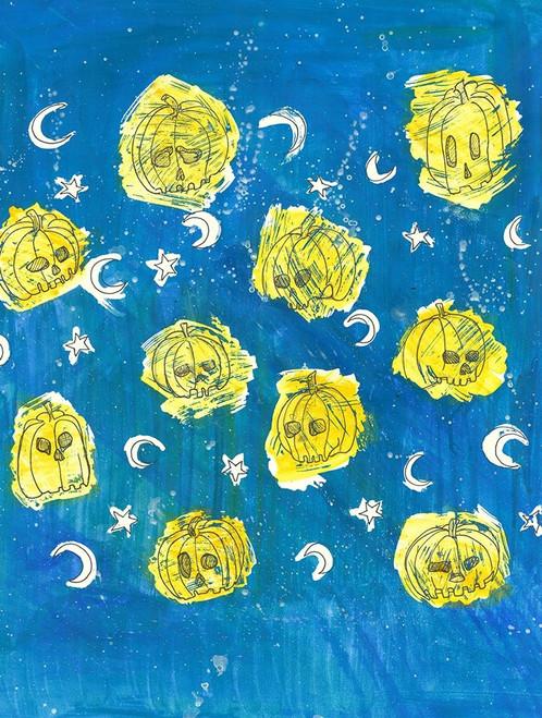 Glowing Pumpkins Poster Print by Justine Bassani - Item # VARPDXBJRC004
