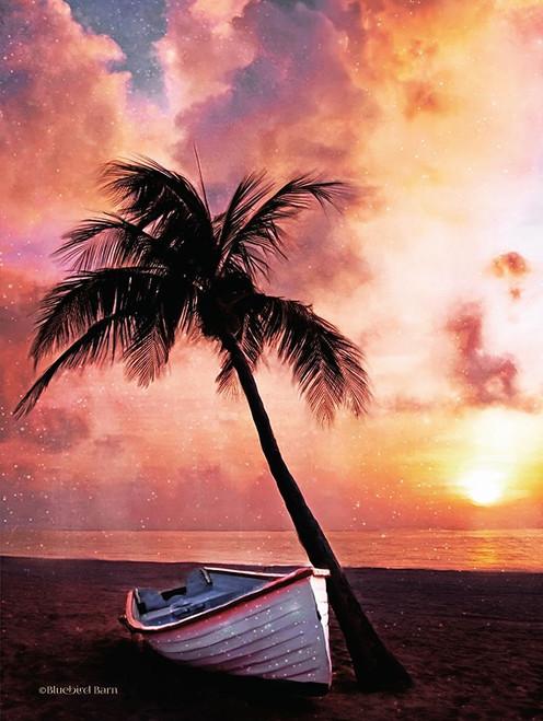Palm Tree Sunset Poster Print by Bluebird Barn Bluebird Barn - Item # VARPDXBLUE100