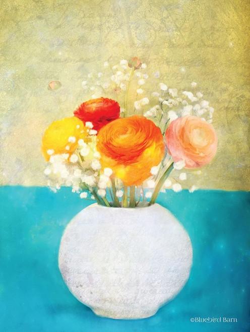 Forget Me Not Bouquet Poster Print by Bluebird Barn Bluebird Barn - Item # VARPDXBLUE123