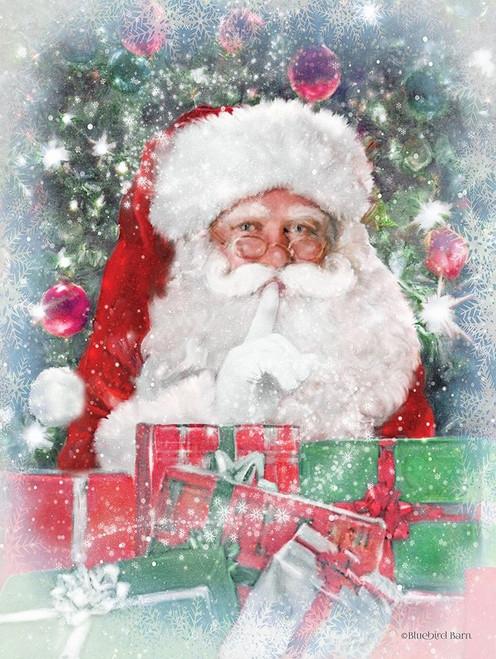 Snowy Secret Santa Poster Print by Bluebird Barn Bluebird Barn - Item # VARPDXBLUE213