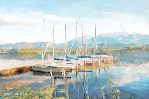 Blue Sky Fishing Day Poster Print by Bluebird Barn Bluebird Barn - Item # VARPDXBLUE225