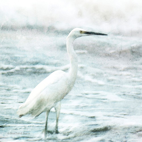 Coastal Heron Poster Print by Bluebird Barn Bluebird Barn - Item # VARPDXBLUE351