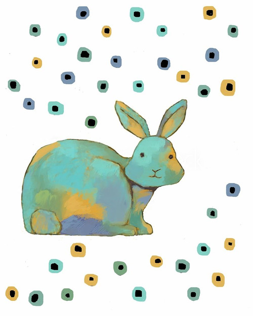 Rabbit Poster Print by Judi Bagnato - Item # VARPDXBN1084