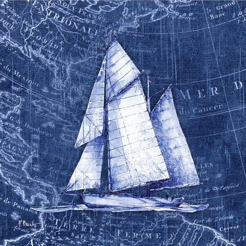 Vintage Nautical III Poster Print by Paul Brent - Item # VARPDXBNT1434