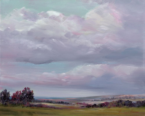 In the Clouds Poster Print by Marianne Broome - Item # VARPDXBR012A