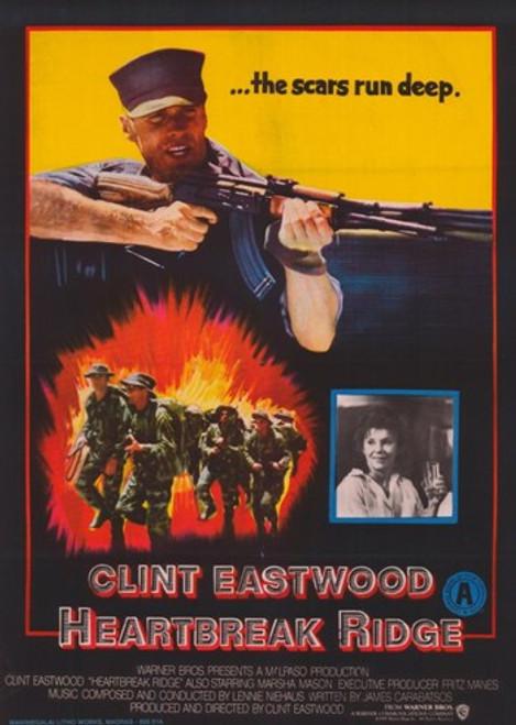 Heartbreak Ridge Movie Poster (11 x 17) - Item # MOV378507