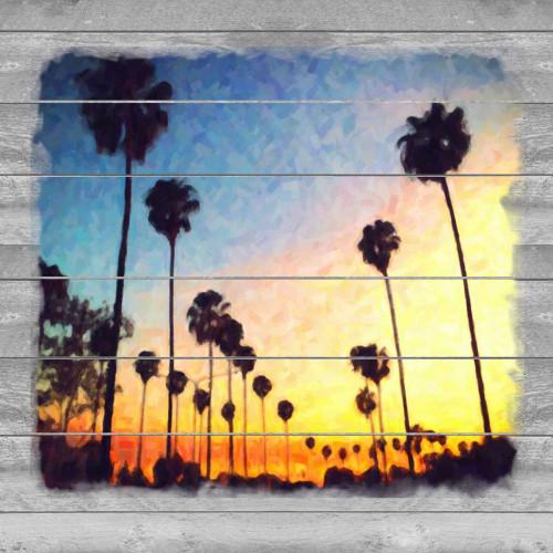 Down Sunset Strip Poster Print by Cynthia Alvarez - Item # VARPDXCCSQ035A