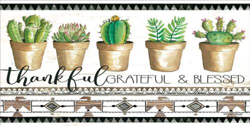 Native Thankful Grateful    Poster Print by Cindy Jacobs - Item # VARPDXCIN1317