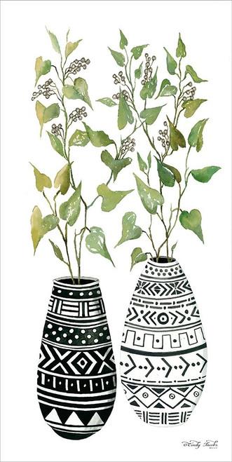 Mud Cloth Vase IV    Poster Print by Cindy Jacobs - Item # VARPDXCIN1402