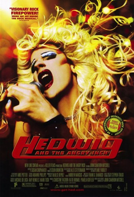 Hedwig and the Angry Inch Movie Poster (11 x 17) - Item # MOV195403