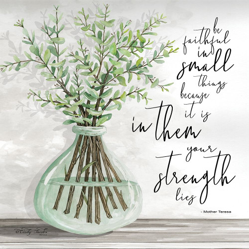 Be Faithful Poster Print by Cindy Jacobs - Item # VARPDXCIN1577
