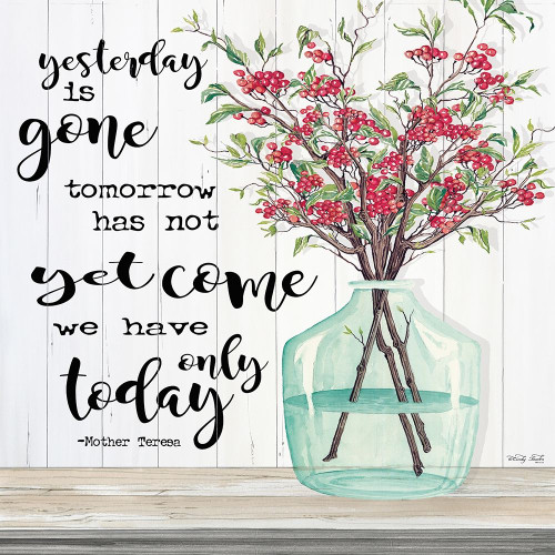 Winter - We Have Only Today Poster Print by Cindy Jacobs - Item # VARPDXCIN1608