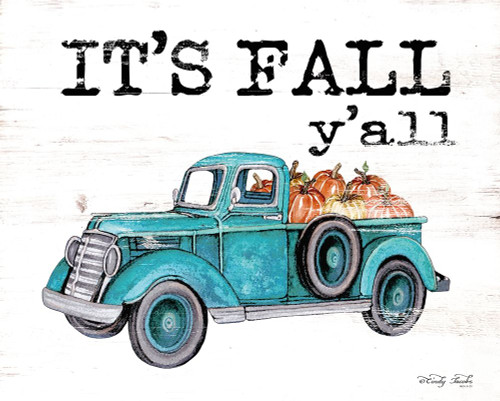 Its Fall Yall Poster Print by Cindy Jacobs - Item # VARPDXCIN1618