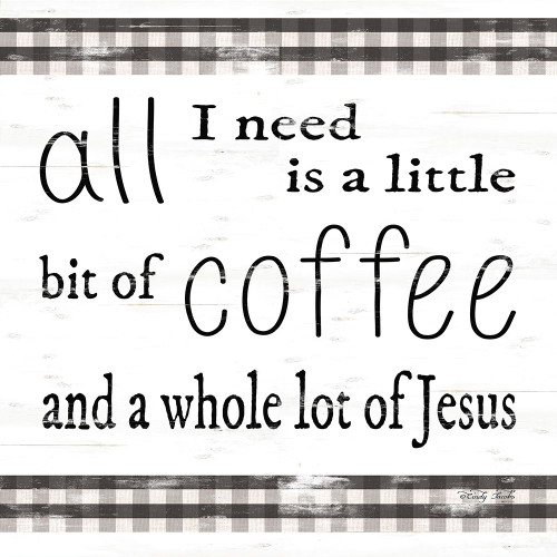 All I Need Poster Print by Cindy Jacobs - Item # VARPDXCIN1685