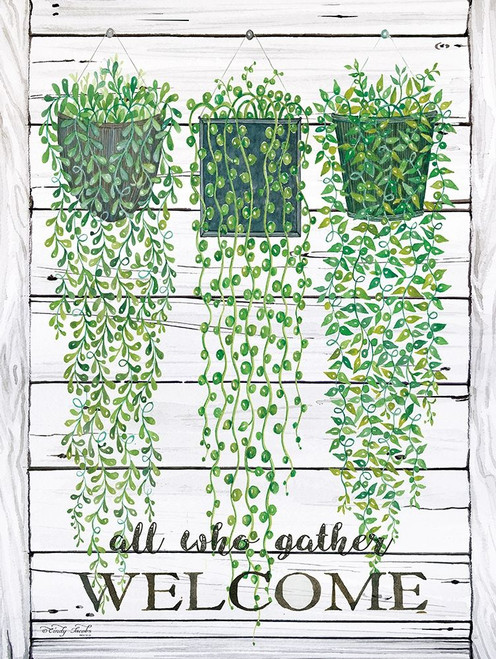 Ivy Welcome All Who Gather Poster Print by Cindy Jacobs - Item # VARPDXCIN542