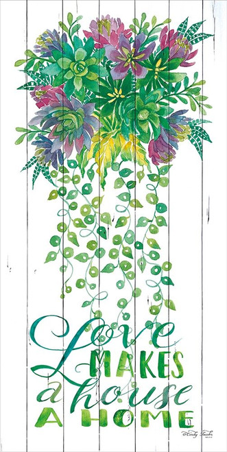 Love Makes a House a Home Poster Print by Cindy Jacobs - Item # VARPDXCIN589