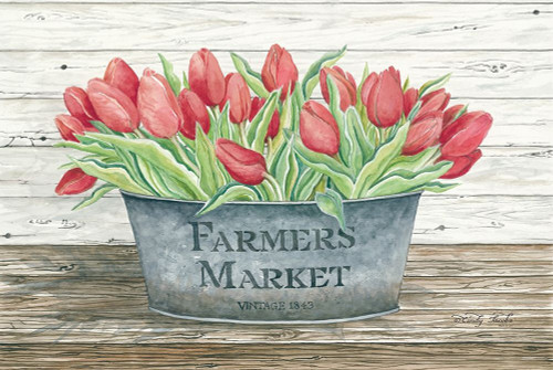 Farmers Market Tulips Poster Print by Cindy Jacobs - Item # VARPDXCIN612