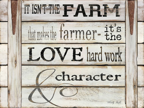 It Isnt the Farm Poster Print by Cindy Jacobs - Item # VARPDXCIN660