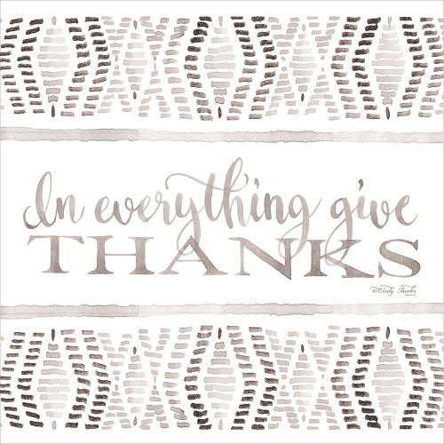 In Everything Give Thanks Poster Print by Cindy Jacobs - Item # VARPDXCIN804