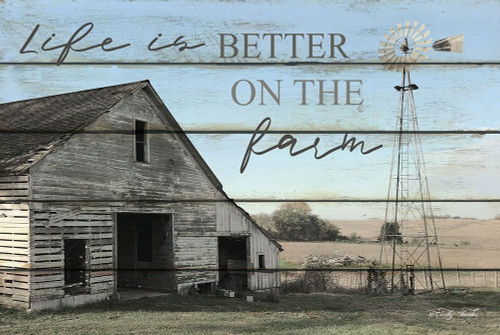 Life is Better on the Farm Poster Print by Cindy Jacobs - Item # VARPDXCIN979