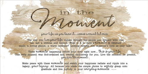In the Moment Poster Print by Cindy Jacobs - Item # VARPDXCIN987A