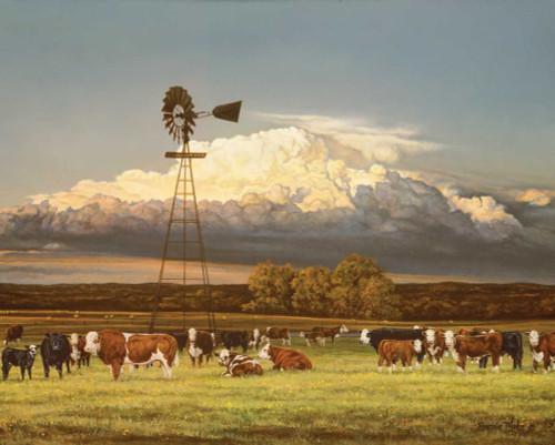 Summer Pastures Poster Print by Bonnie Morh - Item # VARPDXCOW227