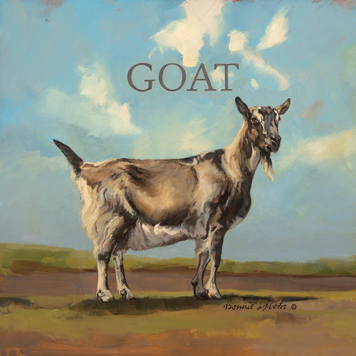Gracey the Goat Poster Print by Bonnie Mohr - Item # VARPDXCOW311