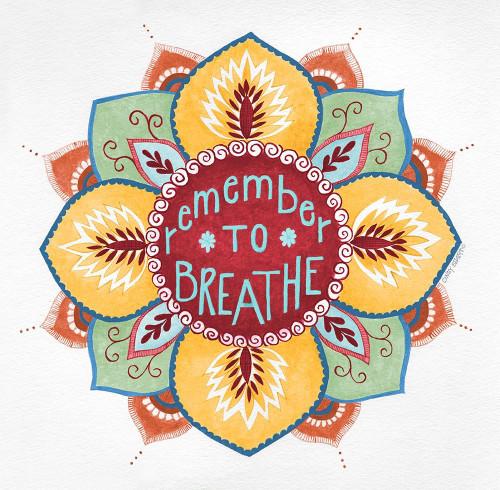 Breathe Poster Print by Cindy Shamp - Item # VARPDXCS2486