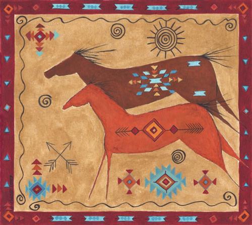 Desert Horses Poster Print by Cindy Shamp - Item # VARPDXCS2613