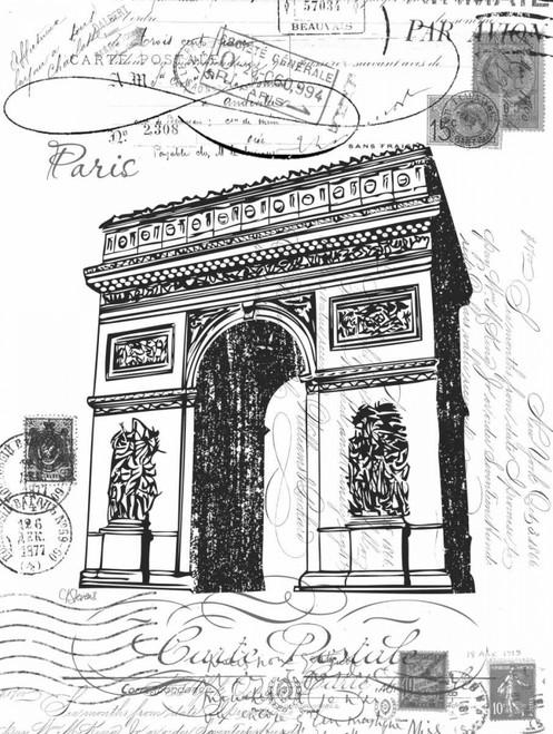 Eco Vintage Paris 2 Poster Print by Carole Stevens - Item # VARPDXCSRC188B1