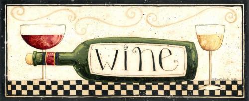 Wine Poster Print by Dan DiPaolo - Item # VARPDXDDPPL025B