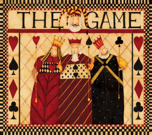 The Game Poster Print by Dan DiPaolo - Item # VARPDXDDPRC095