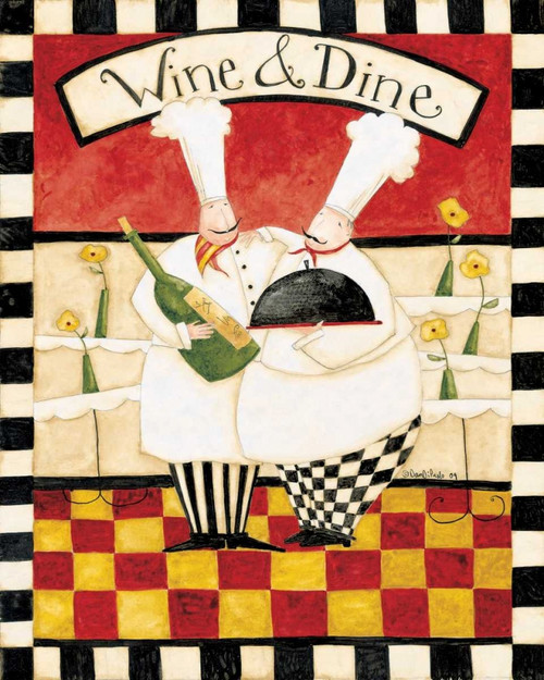 Wine And Dine Poster Print by Dan DiPaolo - Item # VARPDXDDPRC298