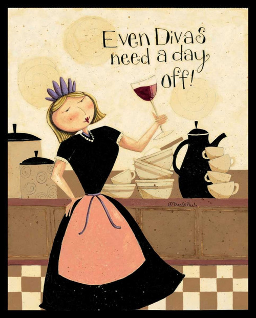 Divas Poster Print by Dan DiPaolo - Item # VARPDXDDPRC457B