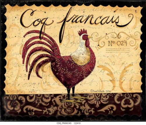 Coq Francais Poster Print by Dan DiPaolo - Item # VARPDXDDPRC459