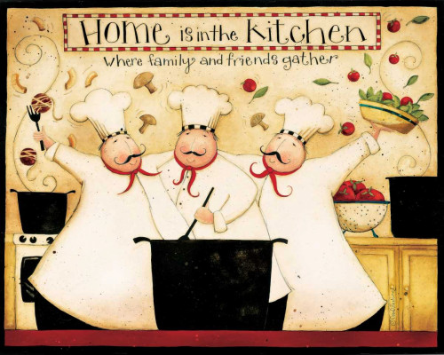 Home Cooking Poster Print by Dan DiPaolo - Item # VARPDXDDPRC481A