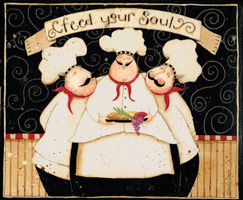 Feed Your Soul Poster Print by Dan DiPaolo - Item # VARPDXDDPRC553D