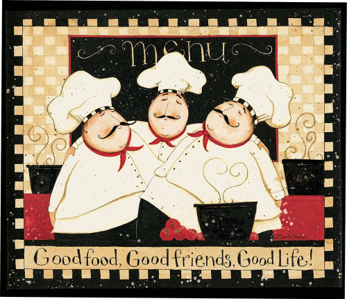 Good Food Good Friends 2 Poster Print by Dan DiPaolo - Item # VARPDXDDPRC553E